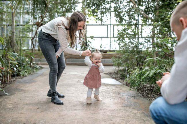 Babyfotos im Botanischen Garten Berlin
