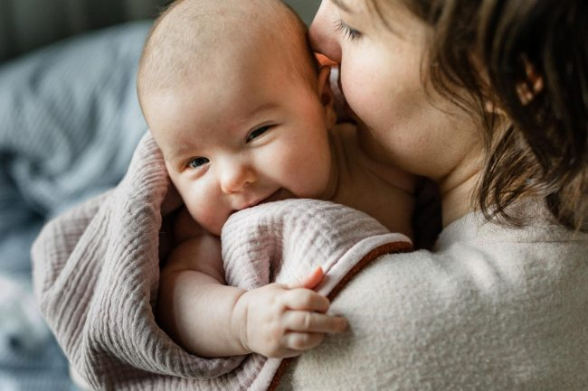 Fotoshooting Prenzlauer Berg mit Baby