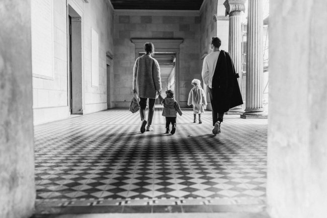 Entspannte Familienfotos Potsdam